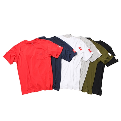 《THE NORTH FACE》別注 Tech Pocket T