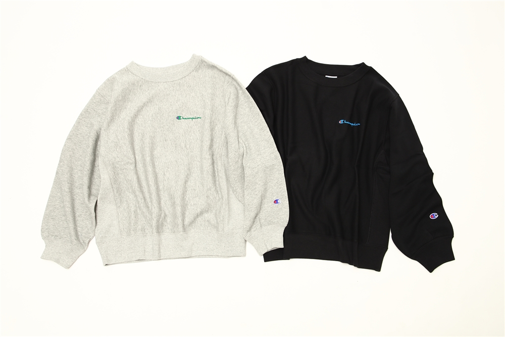 「CHAMPION」  REVERSE WEAVE CREW NECK SWEATSHIRT