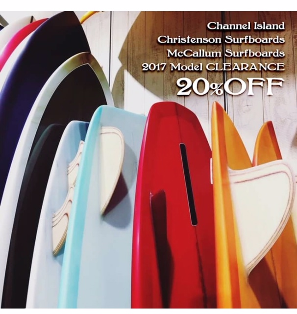 SURF BOARD CLEARANCE SALE VOL.2