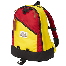 DAY PACK 80's YELLOW/RED