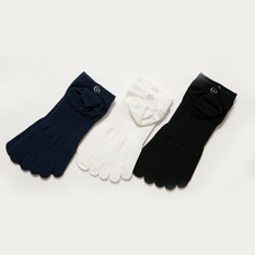 【C3FIT】PAPER FIBER 5FINGER SOCKS