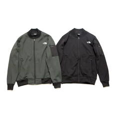 NYLON FLEECE STUDIUM JACKET